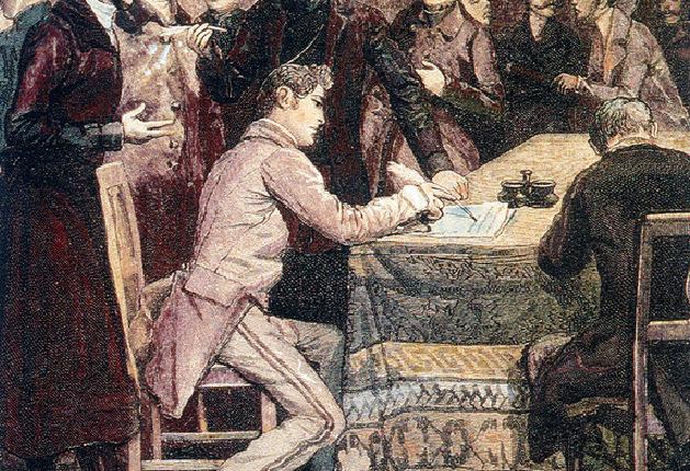 En 1848, la Suisse débat déjà…desétrangers