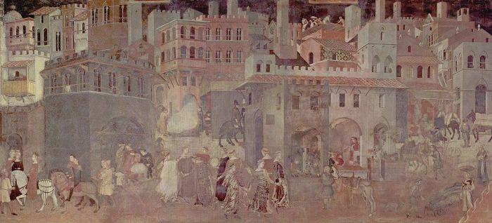 Les villes du Moyen Age étaient sales etjoyeuses