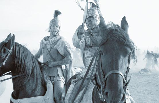 «les légionnaires romains bénéficiaient d'un très bon entraînement et d'un matériel d'excellente qualité»