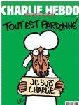 """""""Tout est pardonné"""" Couverture de Charlie Hebdo"""