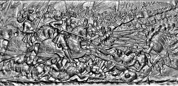Mais que sont allés faire les Suisses en 1515 àMarignan?